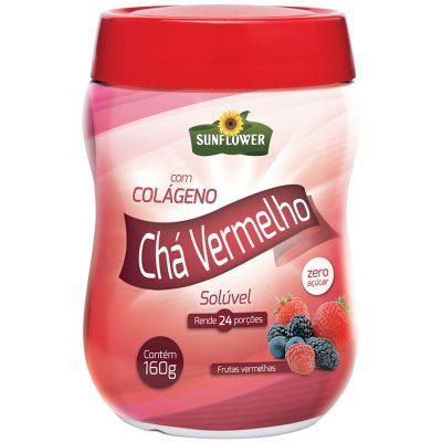 Chá Vermelho Com Colágeno – Sabor Frutas Vermelhas