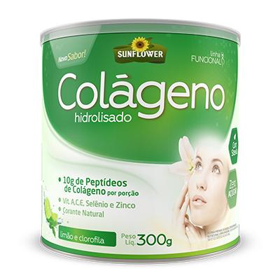 Colágeno Hidrolisado – Sabor Limão e Clorofila