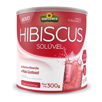 Chá De Hibiscus – Sabor Frutas Vermelhas