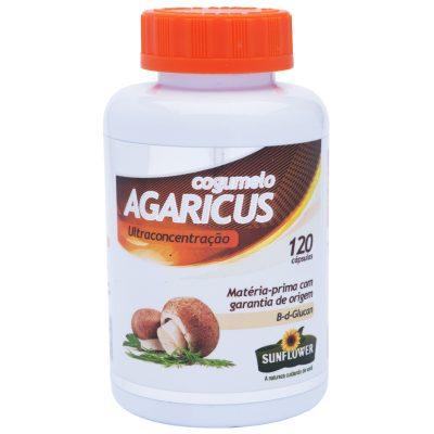 Cogumelo Agaricus 120 cápsulas