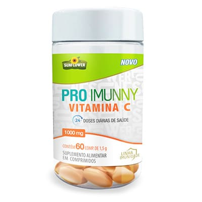 Pro Imunny – Vitamina C – 1000mg – 60 comp.