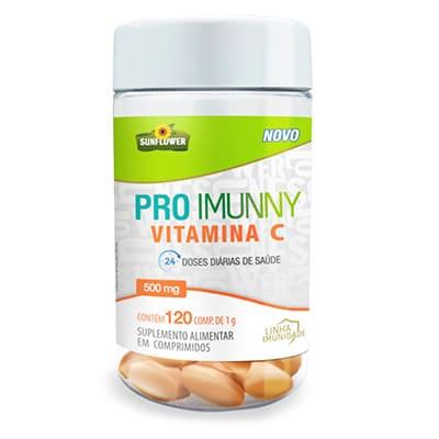 Pro Imunny – Vitamina C – 500mg – 120 comp.